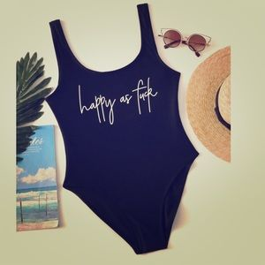 Other - Coming next week✨S-XL✨ Happy As F‼️✨ swimsuit